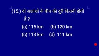 Gs  Practice set - 2 .(Question answer for competitive exam. Upsc , SSC , Railway etc. )