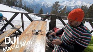 Отзыв DJI Mavic Mini Лучший квадрокоптер для путешествий Диджей мавик мини дрон дронов Mavic Mini