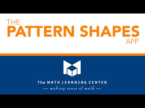 The Pattern Shapes App - Feature Set Overview