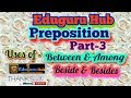 Competitive English Grammar (Preposition- Part-3) for all competition exams