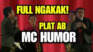 NGAKAK!  Plat AB MC Humor di event WAROENG GROUP