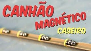 Como fazer um canhão magnético caseiro (Canhão de Gauss)