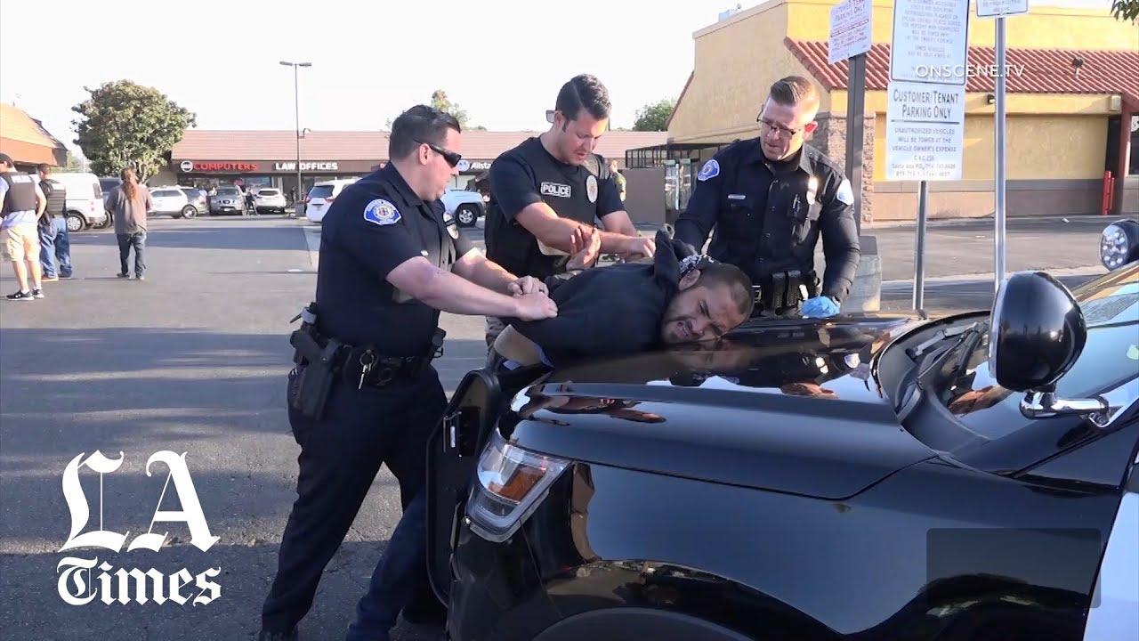 California stabbing: Suspect in 2-hour rampage is gang member - Los