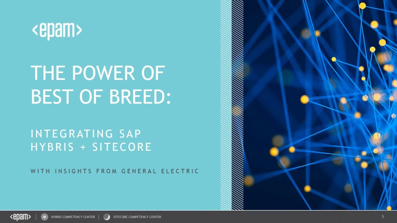 The power of best of breed: Integrating SAP Hybris and