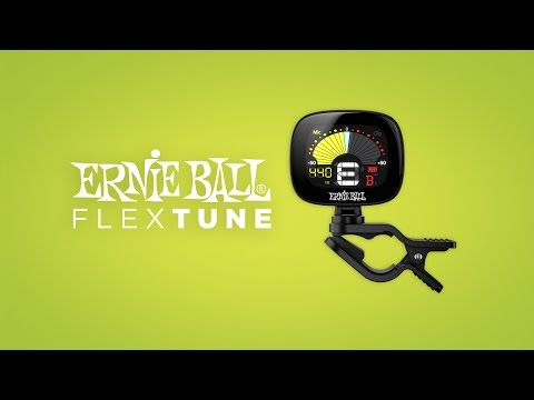 Ernie Ball FlexTune Clip-On Tuner. Clip On. Tune Up. Rock Out.