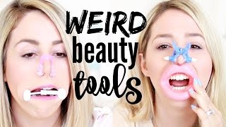 WEIRD Beauty Tools TESTED!