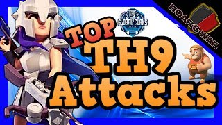 Top 4 TH9 Attack Strategies PRO TIPS | GCPL Finals | Clash of Clans