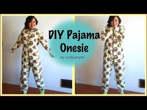 DIY Pajama Onesie! - YouTube
