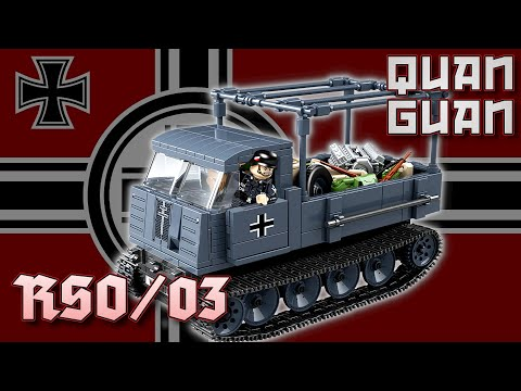 Quan Guan 100086 | RSO/03 | Raupenschlepper | ✙ Review Deutsch | Noppenecke