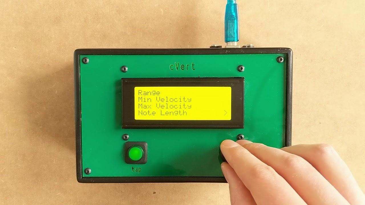 cVert MIDI Generates True Random Numbers with a Geiger Counter
