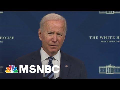 Biden Discusses 'Unimaginable Damage' Caused By Hurricane Ida