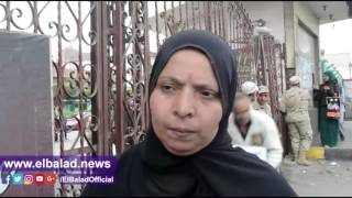 أهالي شبرا الخيمة يشكرون الرئيس السيسي على«كرتونة الجيش»..فيديو