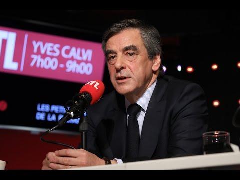 François Fillon, invité de la matinale spéciale de RTL
