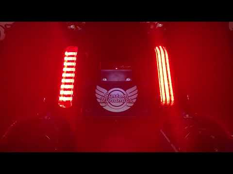 Compare ProBEAM® 2014-2019 CVO™ Motorcycle LED Taillights vs. Stock H-D™ Panels