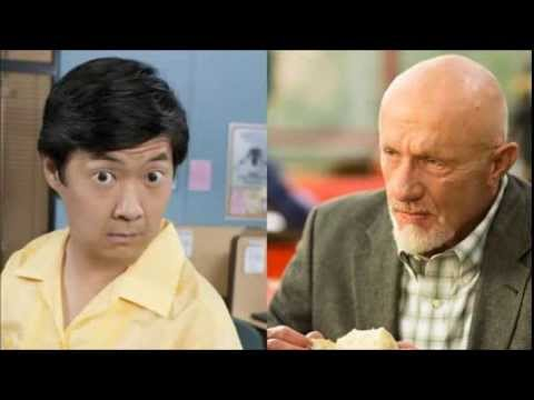 Community Ken Jeong does his best Jonathan Banks impression