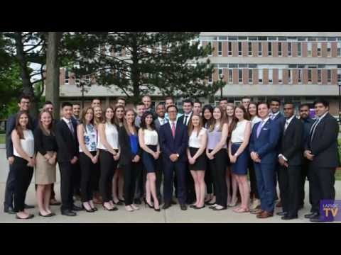 2016-17 Lazaridis Students' Society: Executive Team