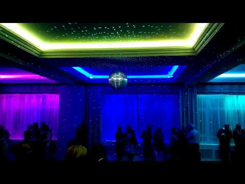 BEST WESTERN Shrubbery Hotel, Ilminster Stunning Ballroom Lighting and Music System