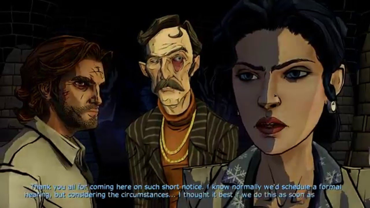 Image result for the wolf among us crooked man trial