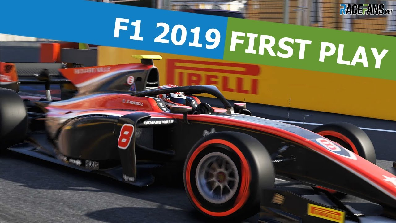 F1 2019: Car and track lists for each game edition · RaceFans
