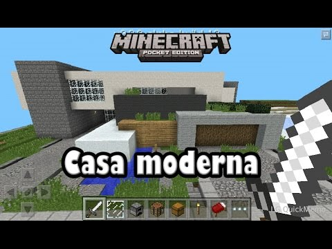 Descarga casa moderna para minecraft pe 0 9 5 alpha youtube for Casa moderna minecraft pe 0 10 5
