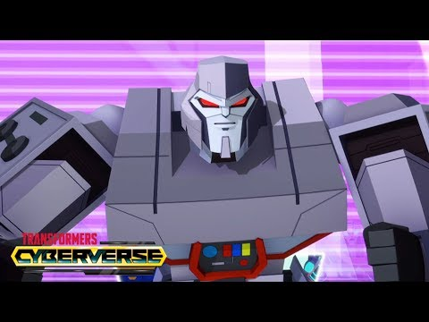 'Megatron is My Hero' ✊ Episode 6 - Transformers Cyberverse - NEW SERIES
