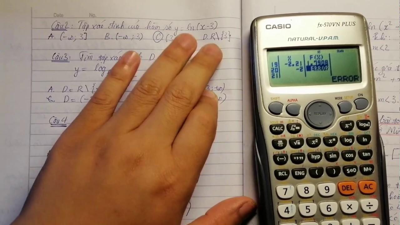 Tìm cực nhanh! Tập xác định của hàm lũy thừa, hàm số mũ và hàm số logarit!