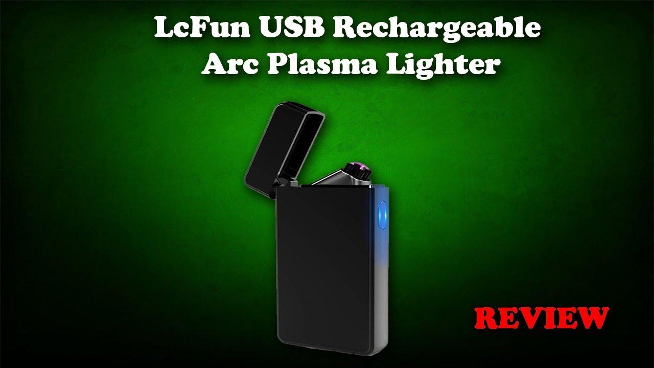 LcFun Dual Arc USB Rechargeable Plasma Lighter Review