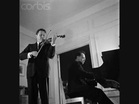 Adolf Busch plays Beethoven Violin Sonata No 9 (Kreutzer) 2nd mvt Part 1