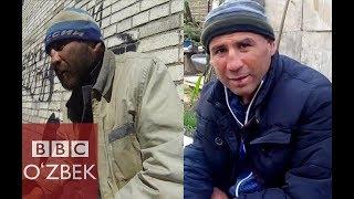 Россияда бомжга айланган ўзбекларга ким ёрдам беряпти? - BBC O