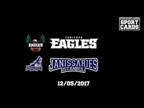 Yeditepe Eagles U19 vs İstanbul Janissaries 12/05/2017