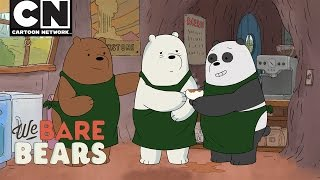 We Bare Bears | Latte Art | Cartoon Network