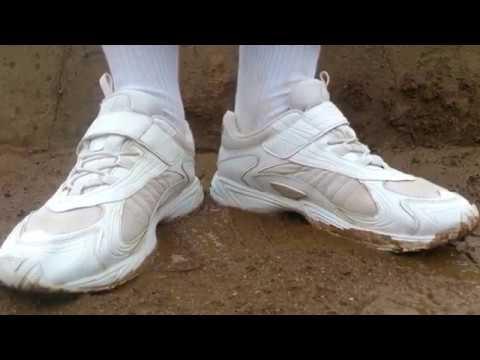 通学靴で泥んこ 9-1 Muddy shoes 9-1