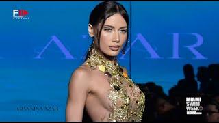GIANNINA AZAR Art Hearts Fashion Swim 2022 Miami - Fashion Channel