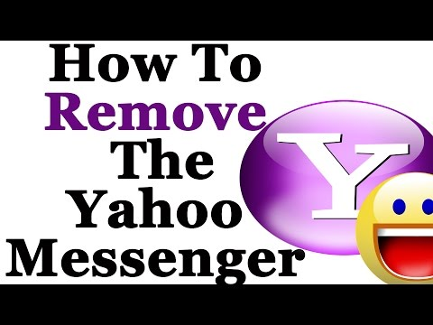 How To Completely Remove The Yahoo Messenger From Windows 7 & 8