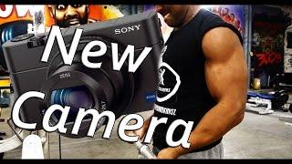 Back and Biceps and New vlogging Camera Vlog