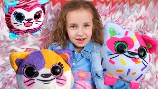 Соня нашла Маленькие Милые Мягкие Котята пушистики Сюрпризы игрушки для девочки