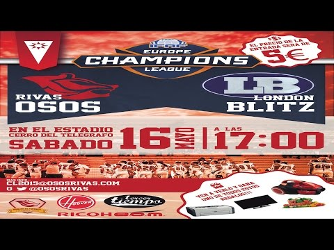IFAF Europe Champions League Osos Rivas vs London Blitz