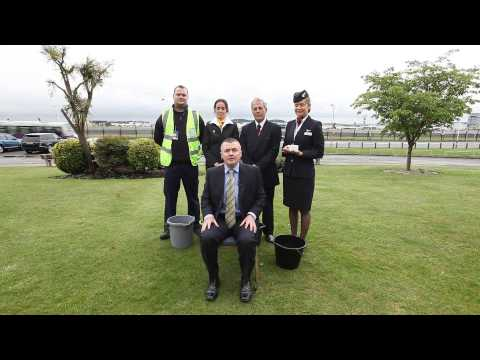 Willie Walsh, IAG Chief Executive, takes the ALS Ice Bucket Challenge