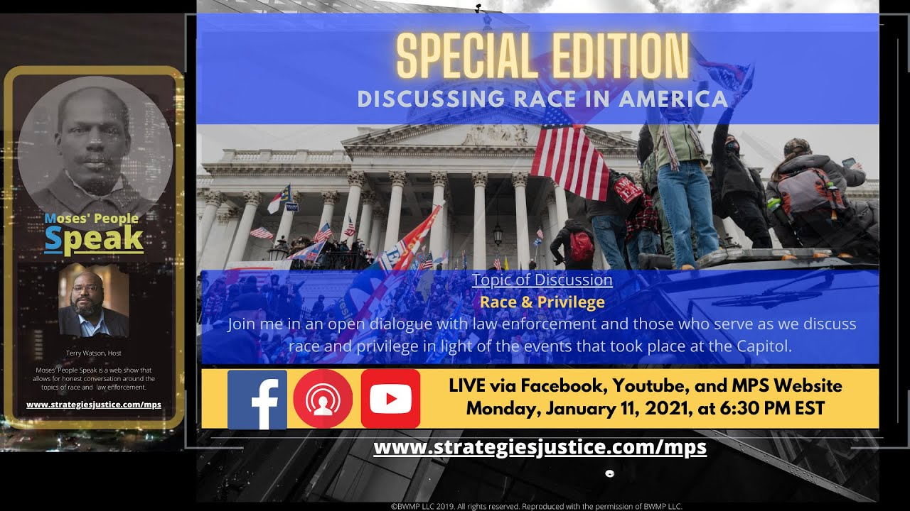 Special Episode: Discussing Race In America (B)