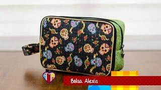 Bolsa em tecidos Alexis – Maria Adna Ateliê