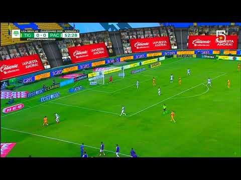 Tigres [1] - 0 Pachuca (J. Duenas 53')