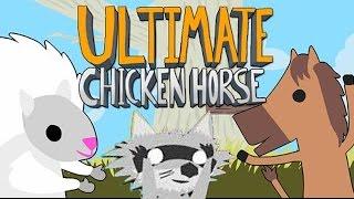 МЕНЯ ПРИДАВИЛ СФИНКС Ultimate Chicken Horse #4 (Дем, Зога, Аид, Хелд)