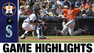 Astros vs. Mariners Game Highlights (7/28/21)