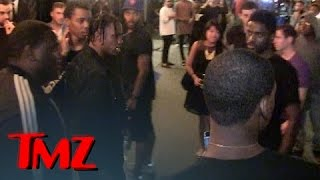 Rapper Travis Scott -- Lunges at Fan ... I'M Not A$AP Rocky! | TMZ