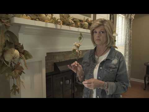 How to Decorate a Fall Mantle- Jennifer Decorates