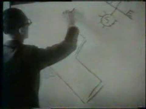 a lezione con Le Corbusier