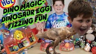 DINO MAGIC - DINOSAUR EGG FIZZING FUN BY HGL
