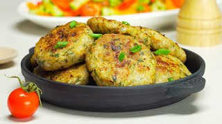 Вкусные, нежные, аппетитные куриные котлеты. Простой рецепт!