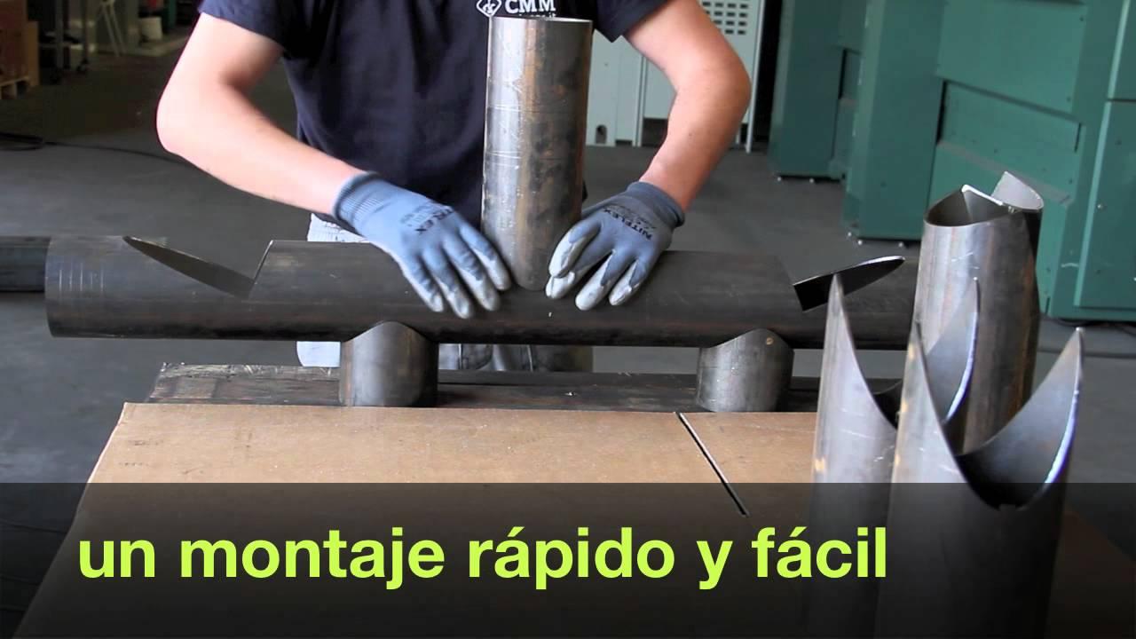 tubos de acero para estructuras  YouTube