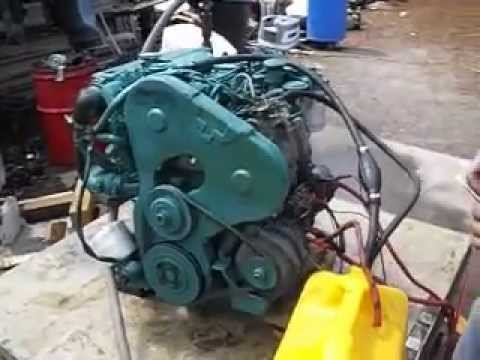 volvo penta md22l 22 horsepower diesel engine youtube rh youtube com volvo penta md22l owner's manual Volvo Manual Transmission